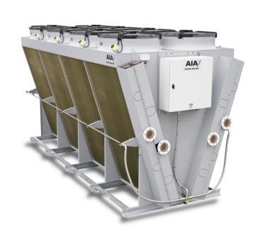 VXX dry air cooler